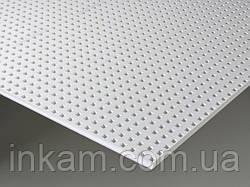 Перфорированные акустические панели Кнауф Cleaneo Acoustic 12/25Q квадратная перфорация