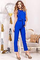 Офисный женский костюм Моренго электрик  Jadone    42-50  размеры
