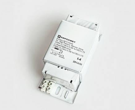 Балласт для металогалогенных ламп МГЛ - ДРЛ 250W 220V 2.13А