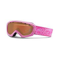 Горнолыжная маска Giro Chico мат.розовая/розовый котёнок, красная 57% (GT)