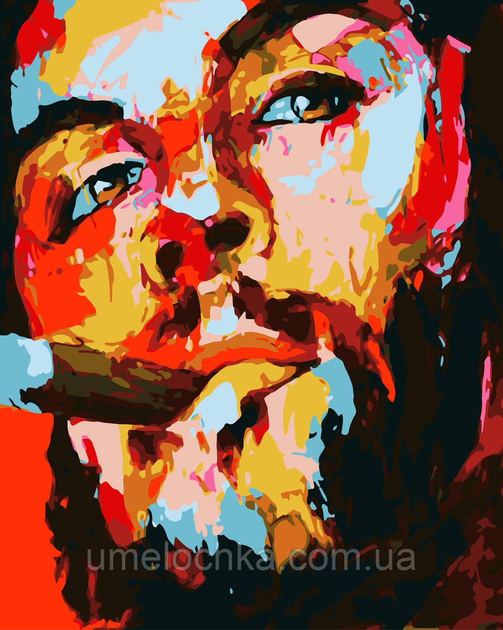 Картина по номерам Эрнесто Че Гевара Худ Франсуаза Нилли (BK-GX3140) 40 х 50 см