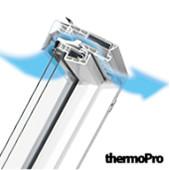 Мансардне вікно Fakro вологостійке з вент. щілиною(PTP-V/(GO/PI) U3)(профілі ПВХ)