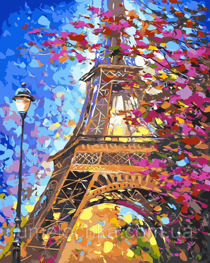 Картина по номерам Краски весеннего Парижа Худ Афремов Леонид (BK-GX9886) 40 х 50 см