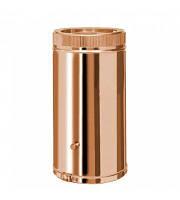 Труба дымоходная утепленная к/медь Коминвент L-1 м D-100 мм