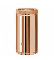 Труба дымоходная утепленная к/медь Коминвент L-1 м D-110 мм
