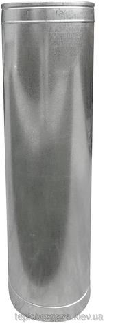 Дымоходная труба из нержавеющей стали (одностенный) Ø 100 Версия-Люкс, фото 2
