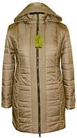Женская большого размера куртка весна-осень