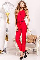 Офисный женский красный  костюм Моренго Jadone    42-50  размеры