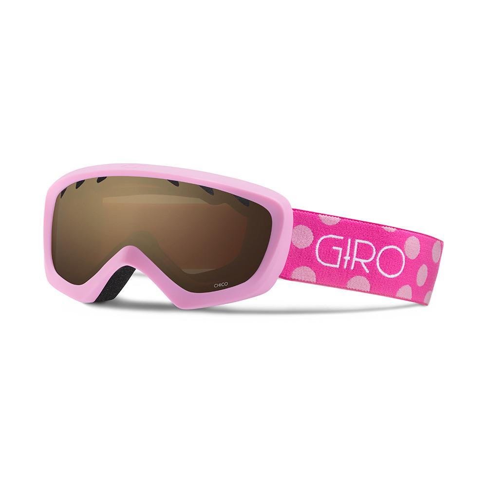 Горнолыжная маска Giro Chico розовая Magenta Dots, Amber Rose 40% (GT)