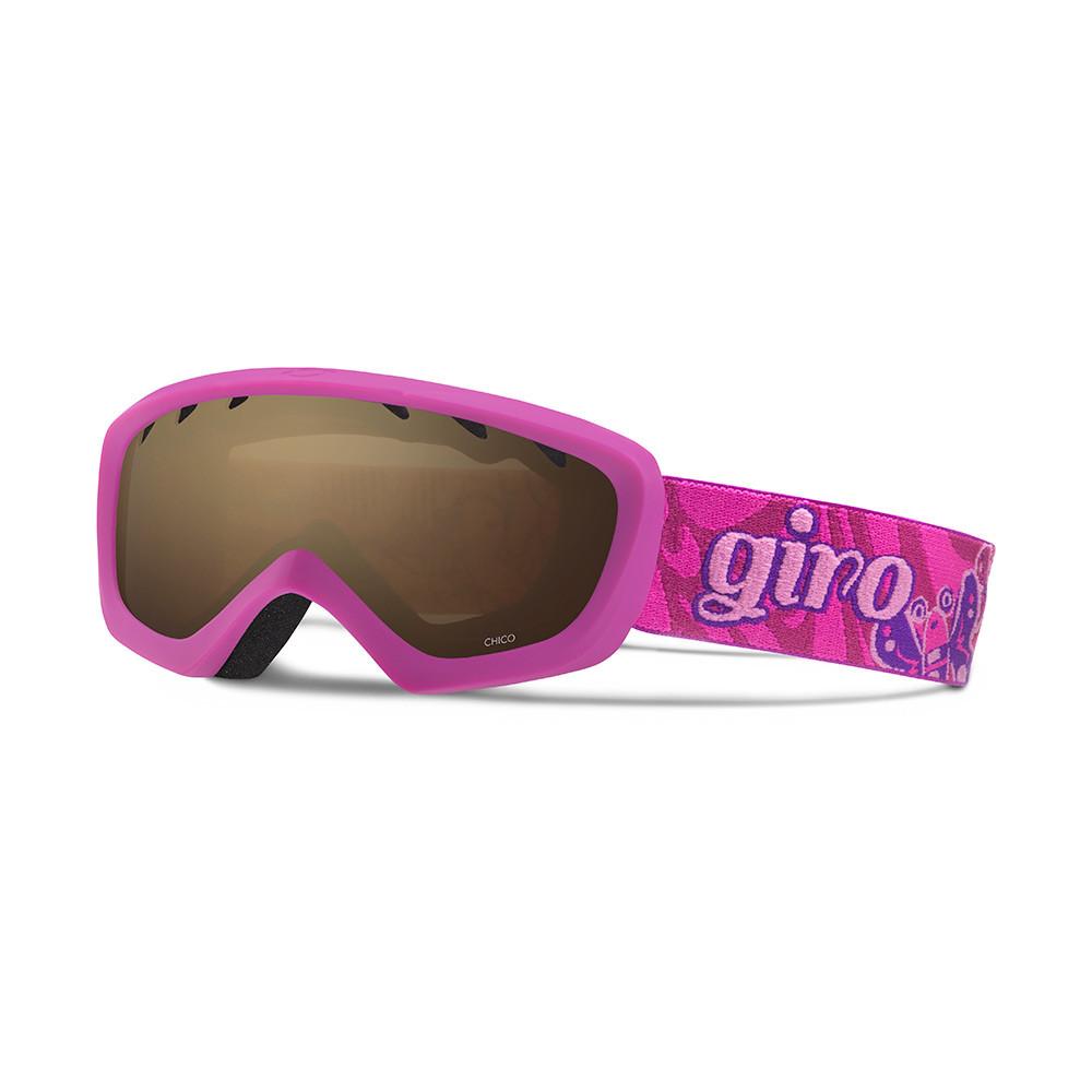 Горнолыжная маска Giro Chico фиолетовая/Magenta Butterflies, Amber Rose 40% (GT)