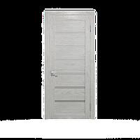 Дверное полотно Екю Білий  Шпон дубовый