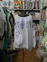 """Сорочка Вышиванка """"Ніка бела"""" (шифон)"""