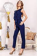 Офисный женский темно-синий костюм Моренго  Jadone    42-50  размеры