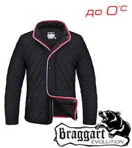 Весенняя куртка без капюшона 56, черный