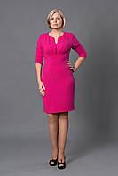 Праздничное женское платье р.48-54 малиновое V264-02