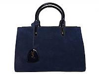 Женская сумка в стиле YSL (синий) №6008-1