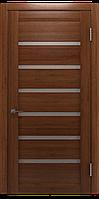Межкомнатная дверь Екю Темный орех Шпон дубовый