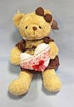 Ведмедик в сукні, 48х22 см, плюш, Подарунки, Дніпропетровськ, фото 3