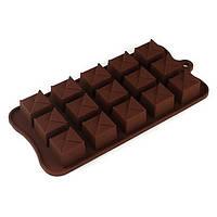 """Силиконовая форма для шоколада """"Конвертики"""""""