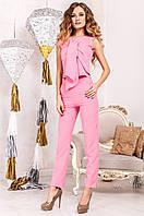 Офисный женский костюм Моренго фуксия Jadone    42-50  размеры