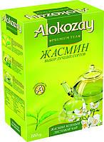 Зеленый чай с жасмином Алокозай  100г