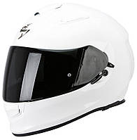 Шлем мото с очками Scorpion EXO-510 Air белый, XS