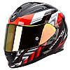 Шлем интегральный Scorpion EXO-510 Air Scale black/neon red, S