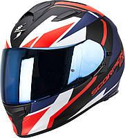 Мотошлем Scorpion EXO-510 Air Fujin matt black/neon red/blue, XL
