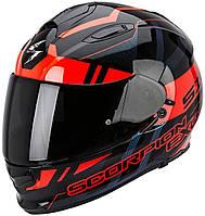 Мотошлем Scorpion EXO-510 Air Stage черный/красный, S, фото 1