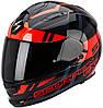 Мотошлем Scorpion EXO-510 Air Stage черный/красный, XL