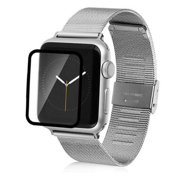 Закаленное защитное стекло Tempered Glass для смарт-часов Apple Watch