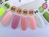 Гель-лак Nice for you № 05 (розово-персиковый, эмаль) 8.5 мл, фото 3