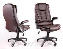 Офисное массажное кресло Veroni Коричневый, фото 3