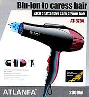 Фен для укладки волос c насадкой AT-6704 2300W
