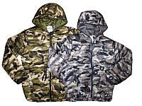 Подростковые весенние камуфляжные курточки для мальчиков на синтепоне 134,146,152р.