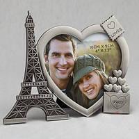 """Рамка для фотографии """"Из Парижа с любовью"""" 15х12 см"""