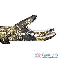 Перчатки 5-палые Sargan Amara Camo gloves 1,5mm Агидель  L