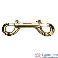 Карабин Best Divers Carabiners Brass Double Ended 120mm