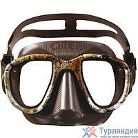 Маска для подводной охоты Omer Alien Mask Коричневый