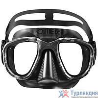 Маска для подводной охоты Omer Alien Mask черно-серый