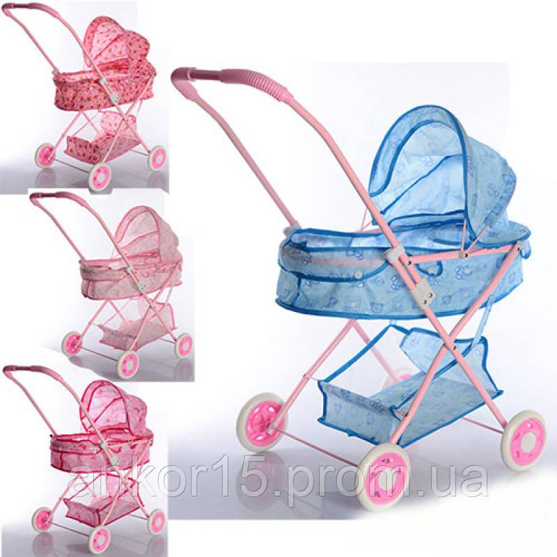 Дитяча прогулянкова коляска з кошиком, складається. 883