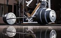 Штанга наборная гранилит 140 кг + Гриф W-образный