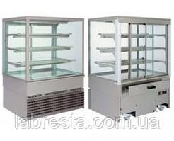 Витрина кондитерская холодильная GEORGIA 1000 SQ INOX