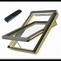 Мансардне вікно Fakro обертальне з дистанційним керуванням(FTP-V U3 Electro), фото 1