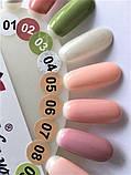 Гель-лак Nice for you № 07 ( сиренево-розовый , эмаль) 8.5 мл, фото 3