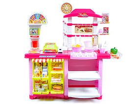Детская игровая кухня и магазин 2в1