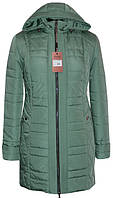Куртка женская Батал 10-77 - мята: 54,56,58,60,60,62,64,66,68