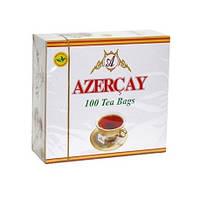 Черный чай Азерчай с ароматом бергамота 100 пак.