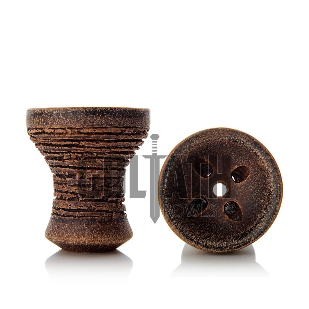 Чаша Goliath Bowl Turkish, Brown Leather