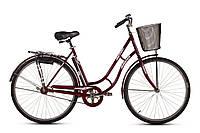 """Велосипед ARDIS RETRO 28"""" с корзиной 22"""" Красный (09031Д)"""